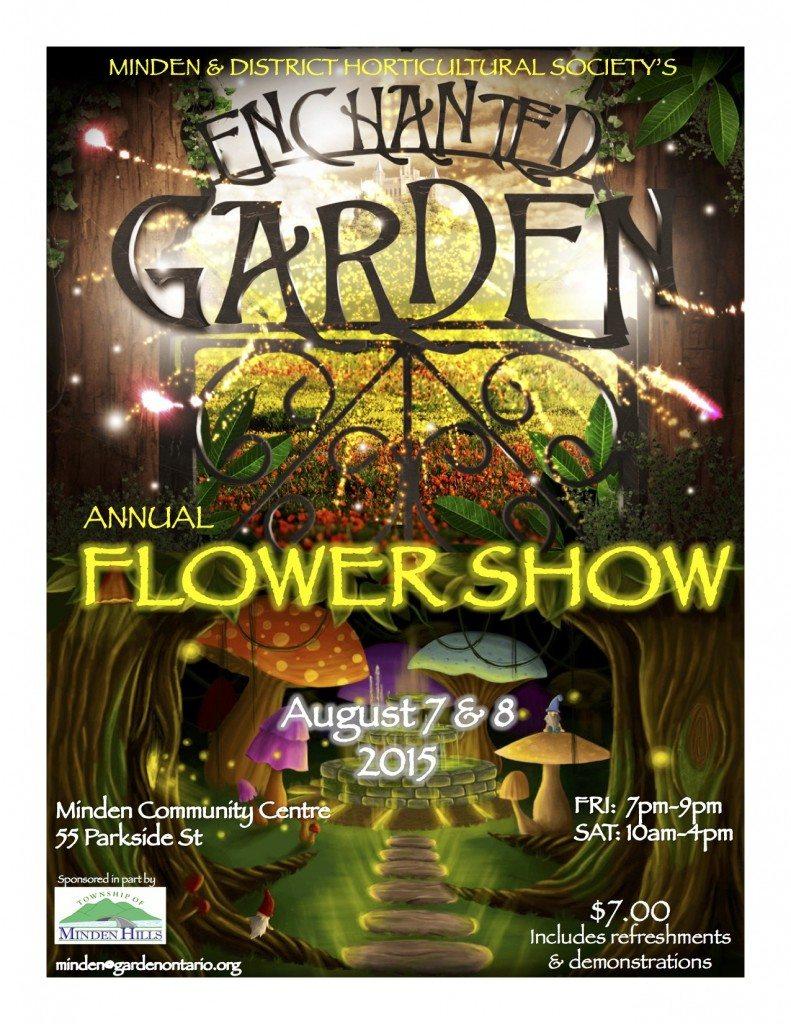 Flower Show 2015 flyer