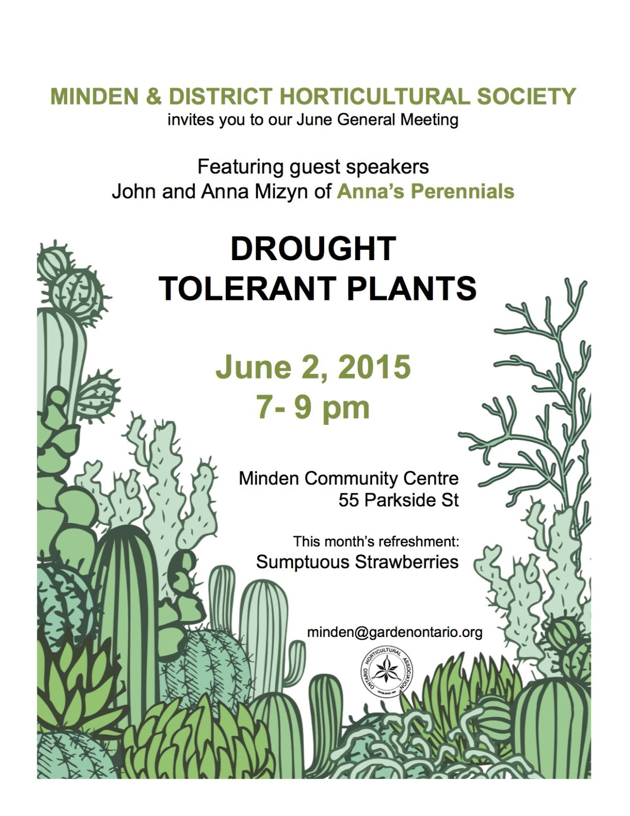 June Meeting Flyer